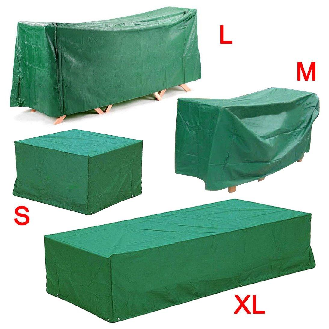Yahee365 Schutzhülle Sitzgruppe Abdeckhaube Gartenmöbel Abdeckplane Schutzplane Gartenmöbel Schutzhülle (L) online kaufen