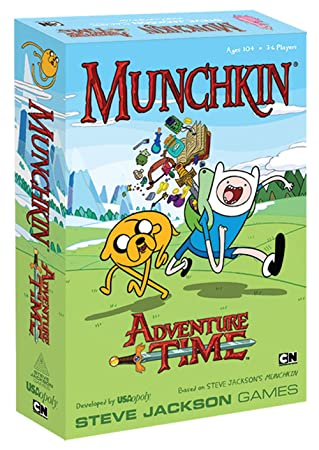 Munchkin - 332229 - Jeu De Cartes - Adventure Time