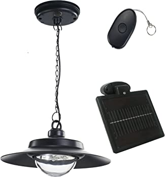Nature Power Hanging Solar Powered LED Shed Light