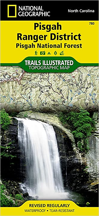 Pisgah Ranger District [Pisgah National Forest] (National Geographic Trails Illustrated Map)