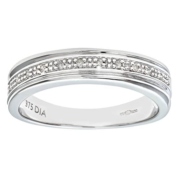 Naava Women's 9ct Diamond Wedding Ring
