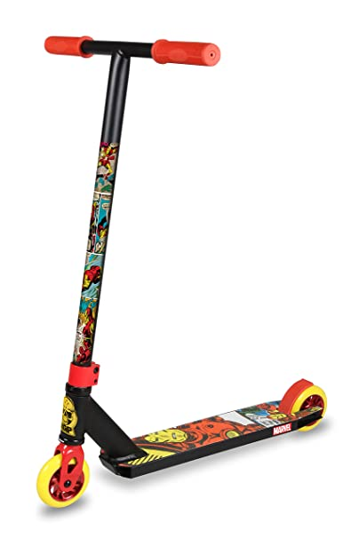 MADD GEAR Extreme Marvel - Trottinette - Iron Man noir/Multicolore 2017 trotinette freestyle