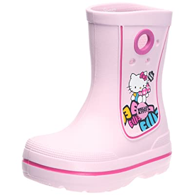 Crocs Kids Jaunt Hello Kitty Wellingtons Boot