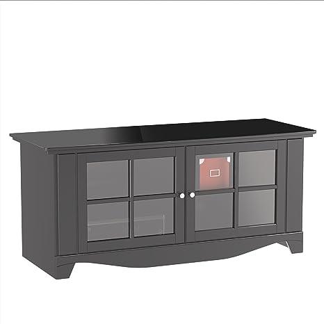 Nexera 100606 Pinnacle 56-Inch TV Stand, Black