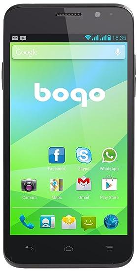 """Bogo Advanced 5"""" Smartphone débloqué Noir (import Espagne)"""