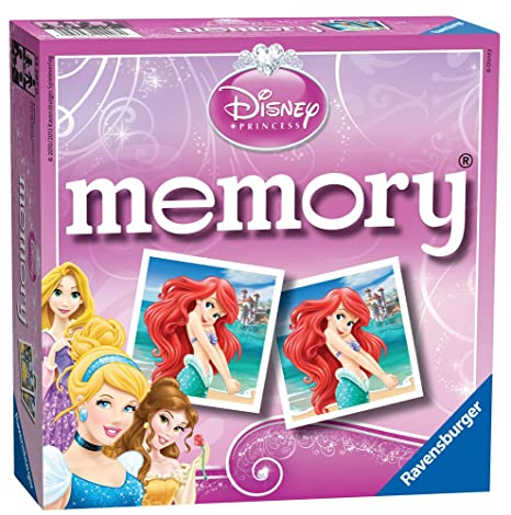 Ravensburger - 22207 - Jeu Éducatif et Scientifique - Grand Mémory Disney Princess