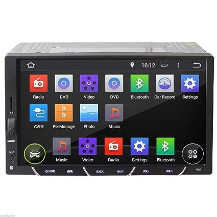 17,8cm Android 4.2dual-cpu Double Baseline Connect Façade autoradio stéréo avec lecteur audio vidéo no-dvd, 3G, WiFi, GPS, iPod, RDS, BT, Multi-Touch capacitif PC Radio stéréo