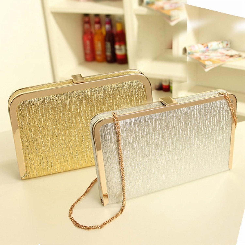 Amazon.co.jp: ゴージャス・ショルダー・ポシェット・バッグ/金色: 服&ファッション小物:通販