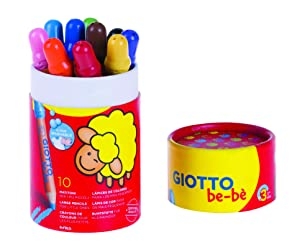 Giotto Bebe Pot 10 Coloured Pencils