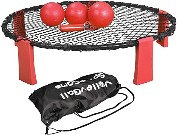 Indoors,Beach, Slam Ball Game Set Played Outdoors Volleyball Spike Game Set