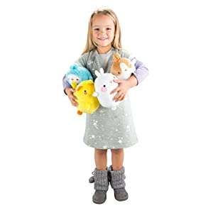 Molang L66033 Soft Toy, White (Color: White)
