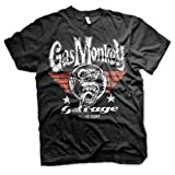 Gas Monkey Garage Officially Licensed Merchandise Flying High T-Shirt (Black) (Color: X-large,black, Tamaño: X-Large)