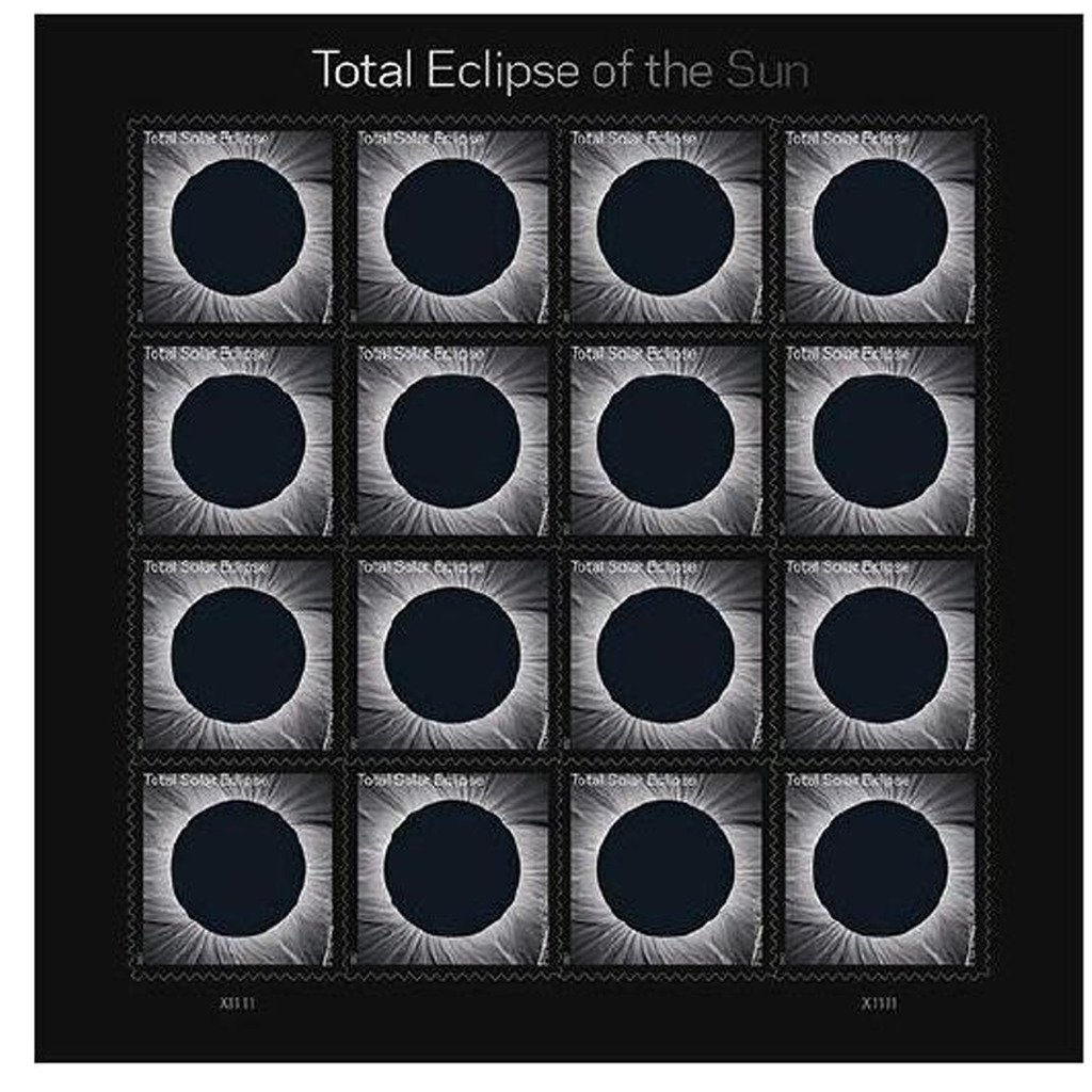 Total Eclipse of the Sun  Stamps