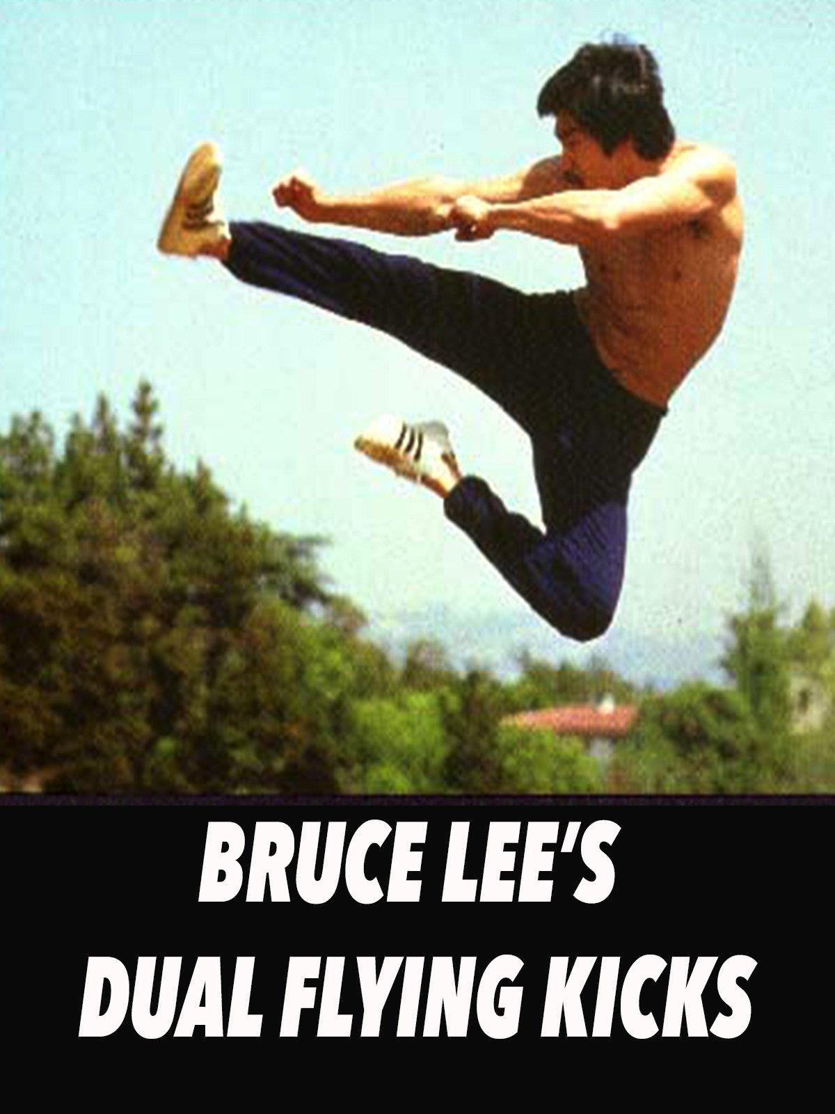 Bruce Lee's Dual Flying Kicks