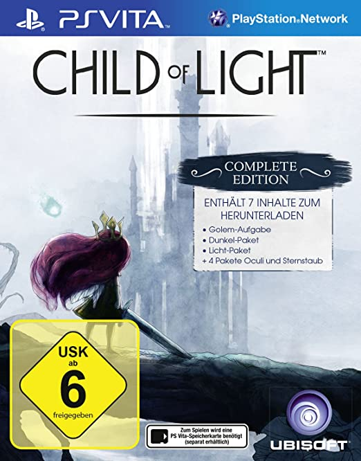 Child of Light - Complete Edition, PS Vita