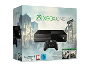 Post image for Xbox One inklusive Assassin's Creed: Unity, Assassin's Creed IV: Black Flag + Call of Duty: Advanced Warfare ab 386€