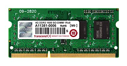 Transcend JetMemory Kit Mémoire RAM pour MacBook Pro 8 Go