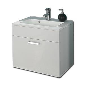 Posseik 5305 76 Waschplatz Malaga (Marano), weißhochglanz  Überprüfung und Beschreibung