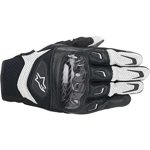 ALPINESTARS - Gants SMX-2 Air Carbon Noir-Blanc