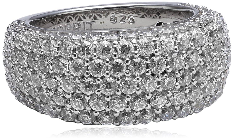 Esprit Damen-Ring 925 Sterling Silber Zirkonia AMORANA ELRG91530A günstig kaufen
