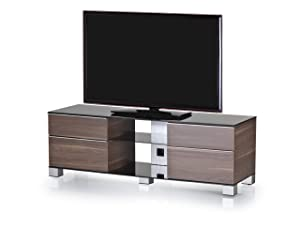 Sonorous MD 9340 B INX WNT Ready Assembled Walnut Cabinet for TV&'s Up To 65 inch       TVCustomer review and more information