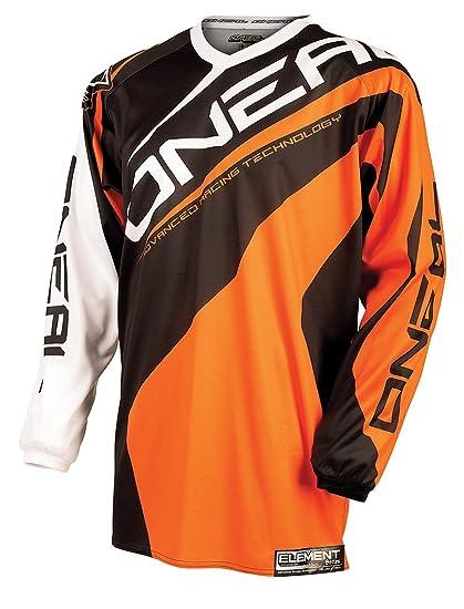 Maillot Motocross Enfant ONeal 2016 Element Racewear Orange