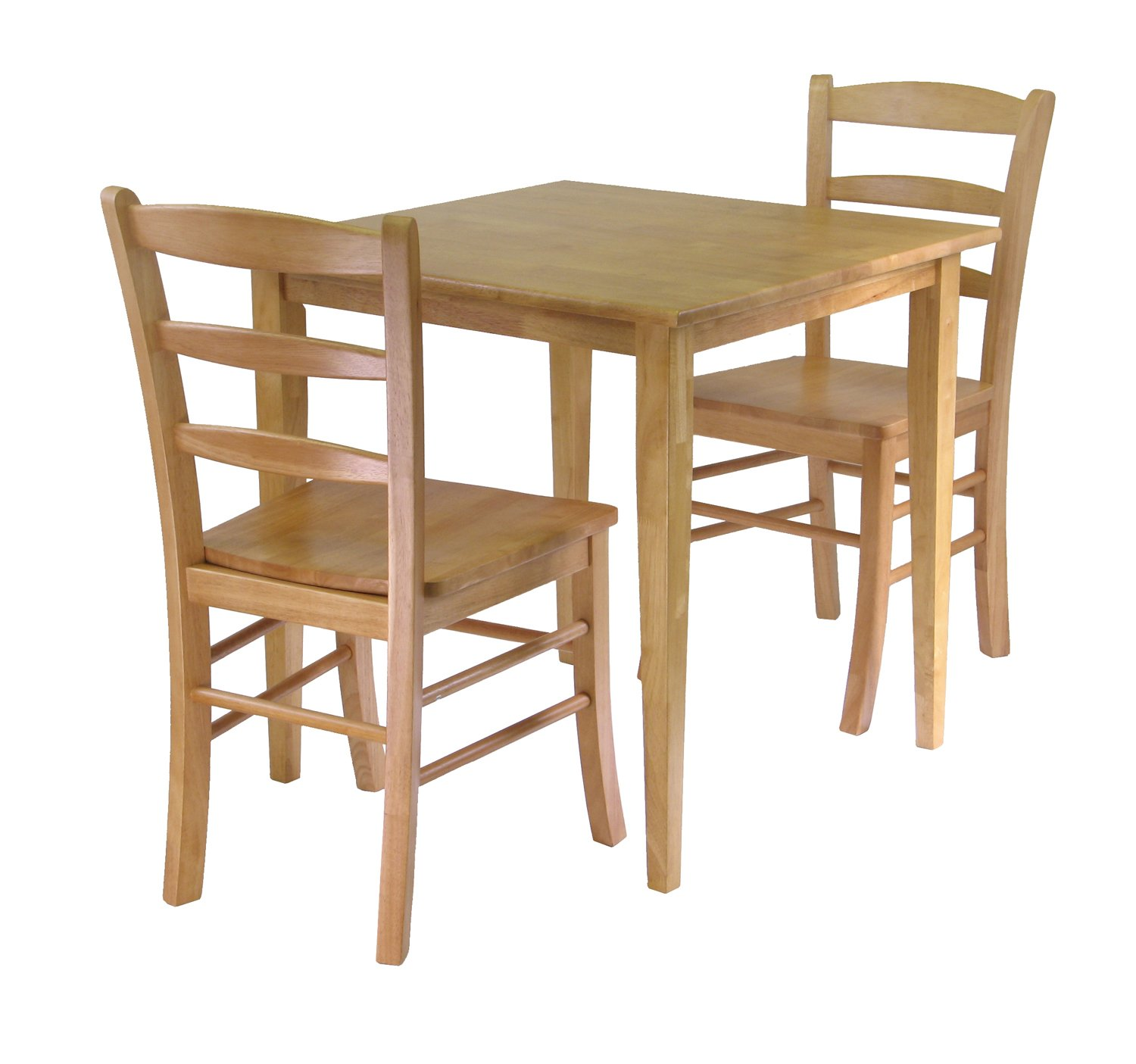 Small kitchen table sets for Small wood dining table and chairs