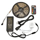 Radiance Color-Changing Light Strip Kit with Wireless Remote,  16 ft, Power Adaptor & Controller Box Included