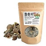 [Medicinal Korean Herb] Albizziae Cortex (Mimosa Tree Bark/Hehuanpi / ???) Dried Bulk Herbs 4oz (113g) (Tamaño: 4oz ( 113g ))