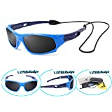 VATTER TR90 Unbreakable Polarized Sport Sunglasses For Kids Boys Girls Youth 816blueblue (Color: Blue/Blue, Tamaño: no)