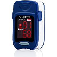 Volmate VOL60A Pulse Oximeter Monitor with Carring case and Battery