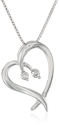 DiAura-Sterling-Silver-Heart-Shape-Diamond-Accent-Pendant-Necklace-18-