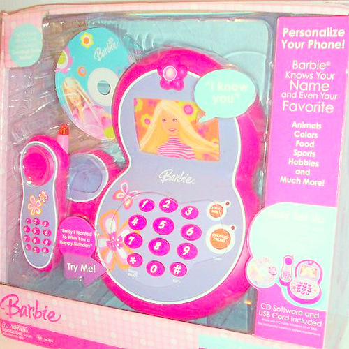 Barbie Toy Phone : Barbie i know you smart phone on popscreen