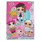 L.O.L. Surprise Dolls Christmas Holiday Countdown Advent Calendar with Milk Chocolates, 1.76 oz