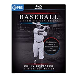 Baseball: A Film By Ken Burns Fully Restored in High Definition Blu-ray [Blu-ray]