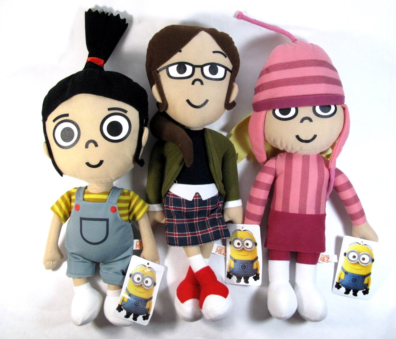 The Girls 3 Piece Plush Set