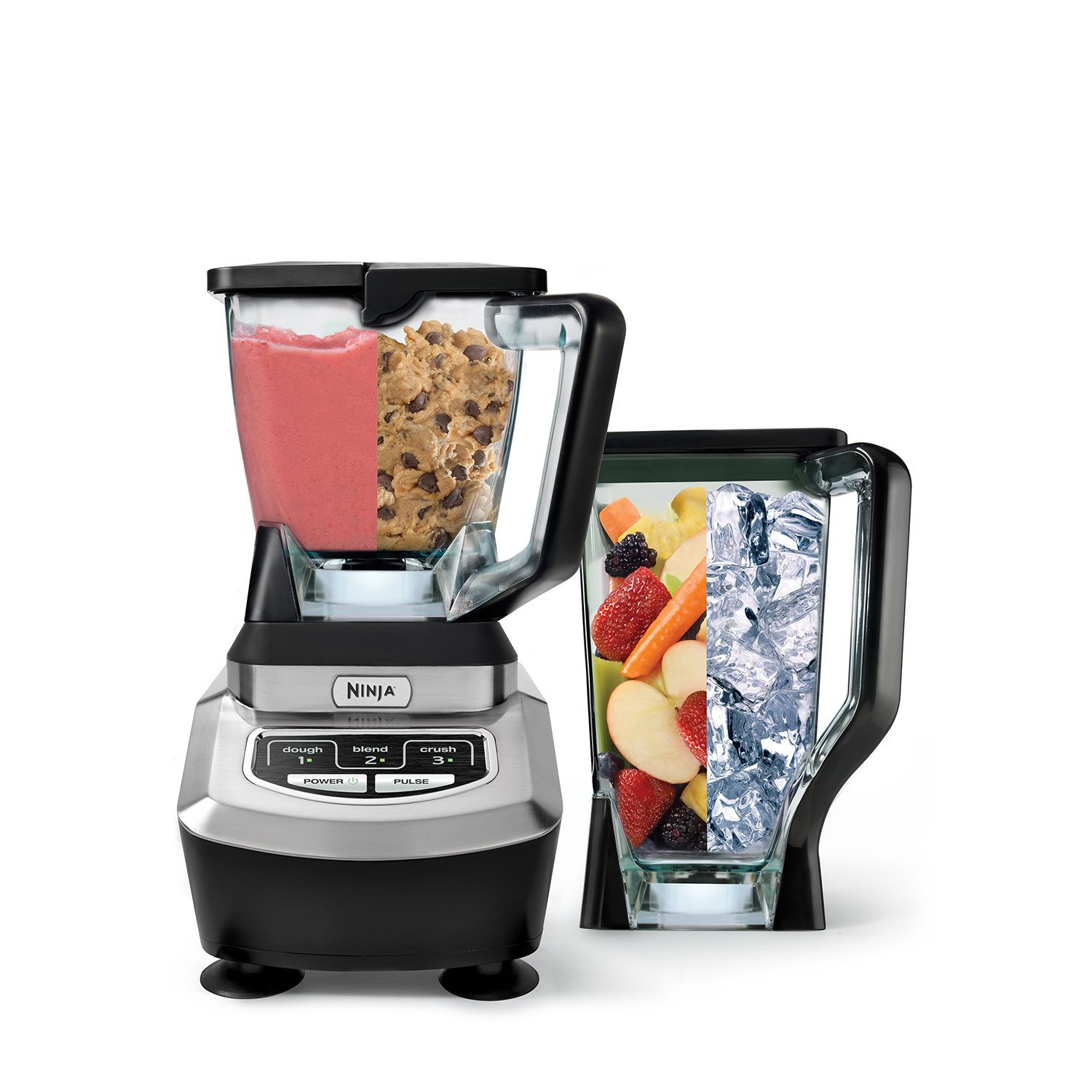 new ninja kitchen system 1200 professional blender food. Black Bedroom Furniture Sets. Home Design Ideas