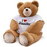 Vermont Teddy Bear Big Teddy Bear - Extra Large Stuffed Animals, Hunk, Custom, 6 Foot (Color: 6 Foot Giant Bear)