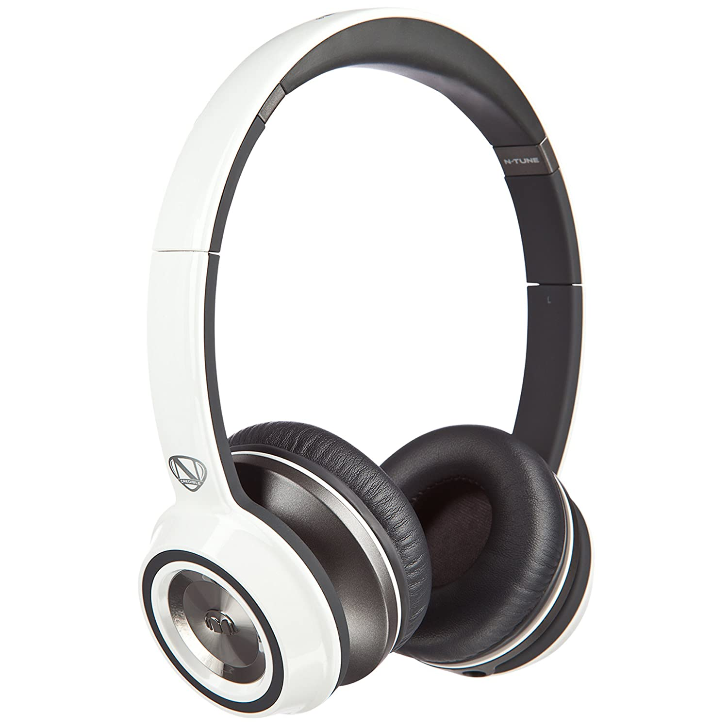 Monster NCredible Ntune On-Ear Headphones (Frost White) $100.97