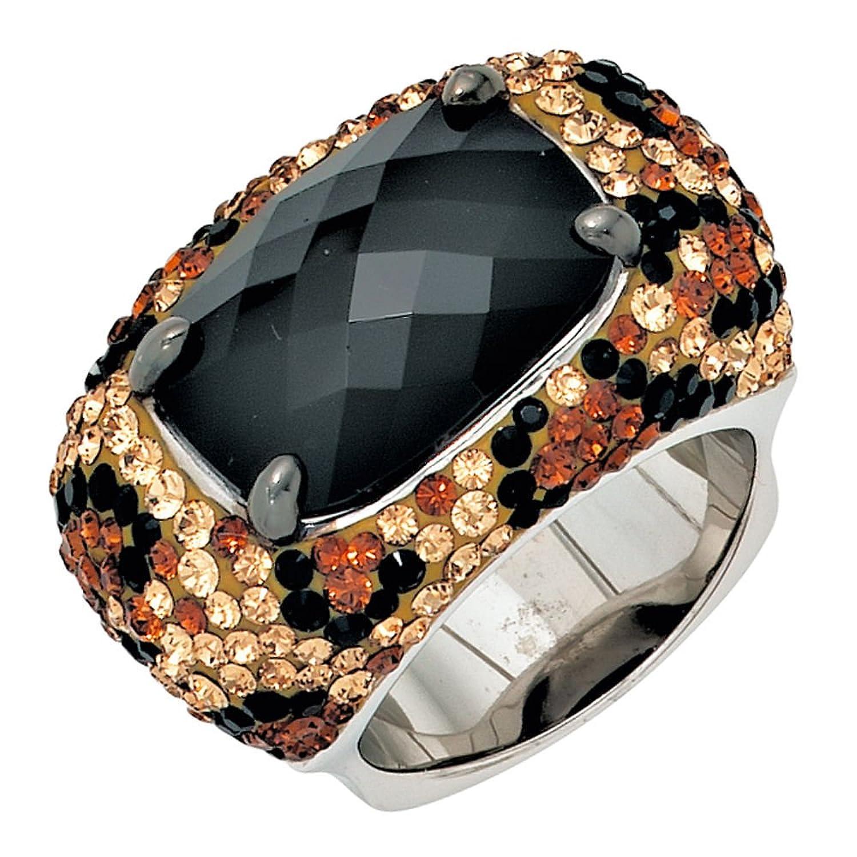 Damen Silber Ring aus 925 Sterling Silber rhodiniert mit Swarovski – Elements ( Größe 58 ) günstig kaufen