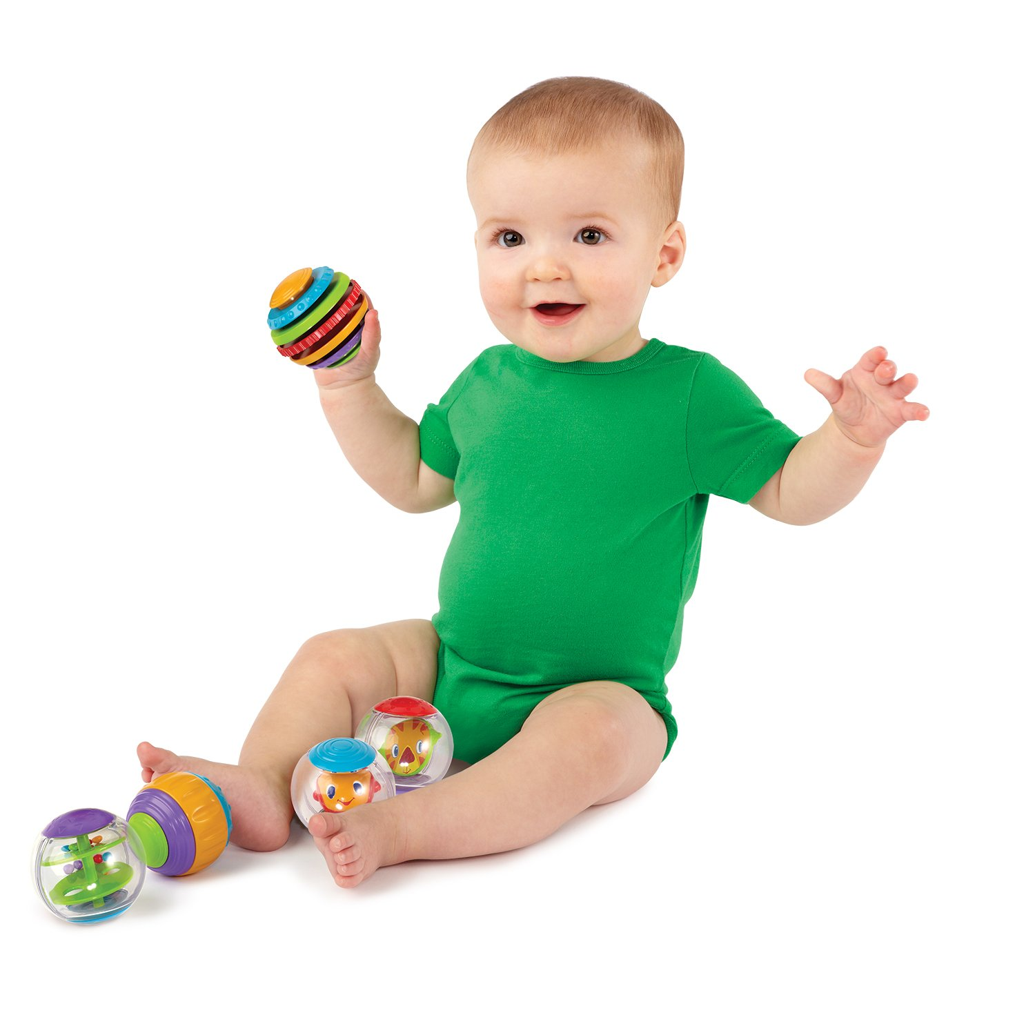 Bright Starts Activity Balls For Baby and Toddler