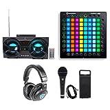 Novation Launchpad Pro USB MIDI RGB 64-Pad DJ Controller+Headphones+Mic+Speaker