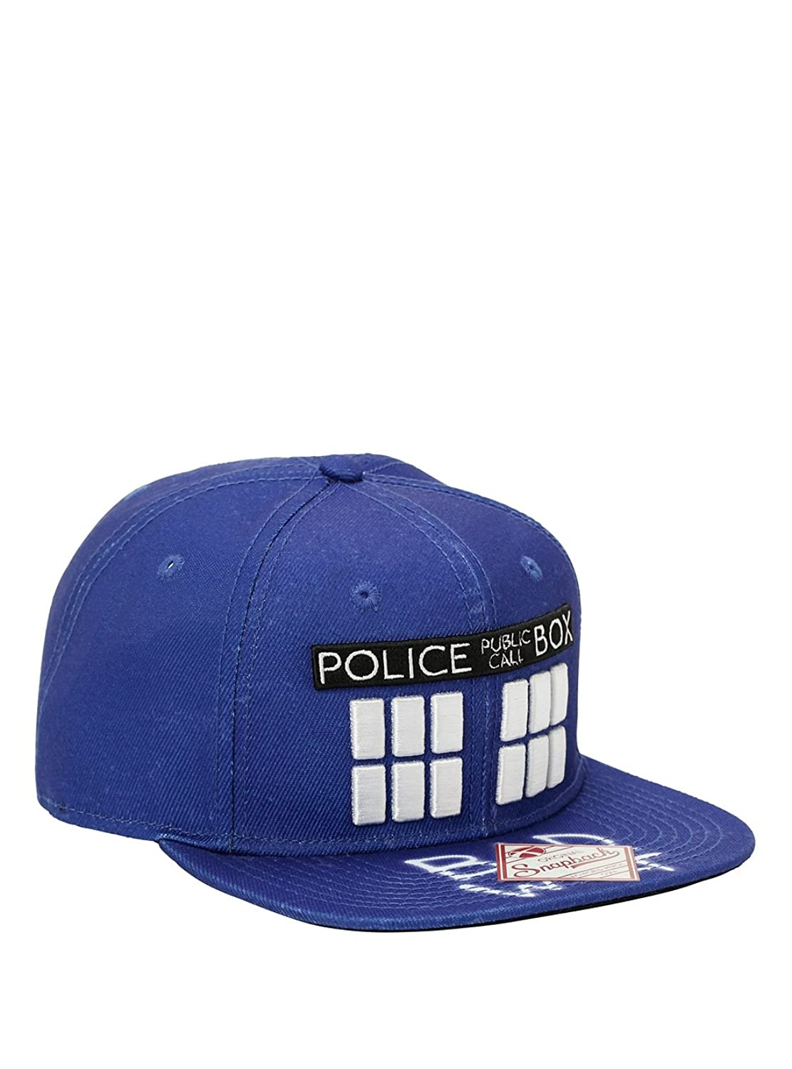 Doctor Who Bad Wolf TARDIS Snapback Hat doctor who corpse marker monster collection ed