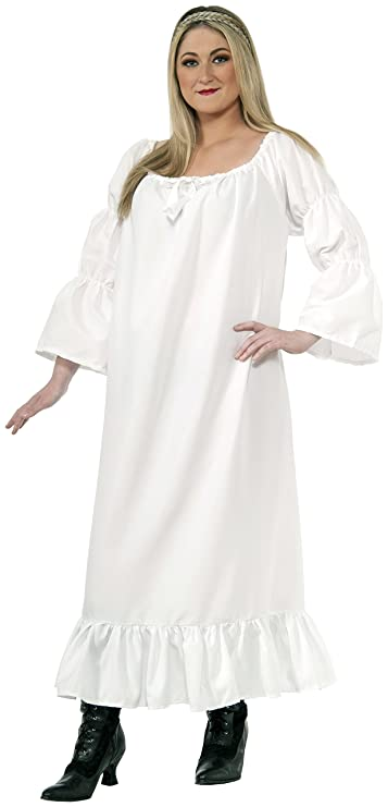 Women's Plus Size Medieval Chemise Costume by Forum Novelties