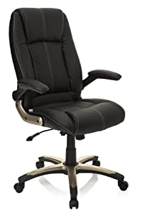 Executive Chair / Office Chair PALATIN Black Imitation Leather hjh OFFICE       Customer review and more news
