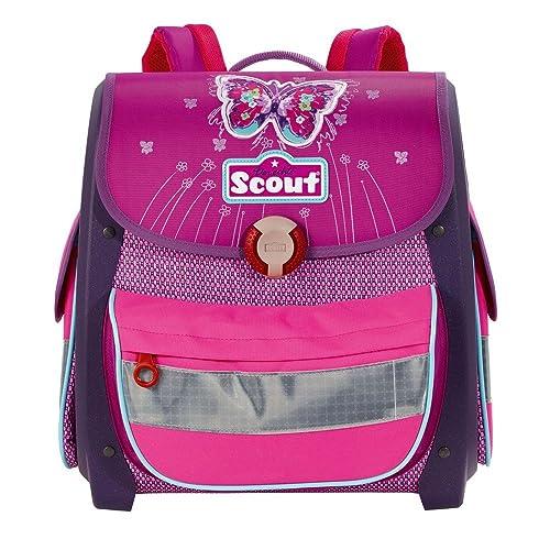 Das Scout Buddy Schulranzen-Set in Violett Schmetterling