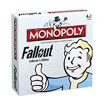 Fallout Monopoly - Board Game - English