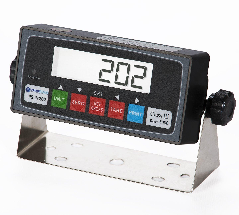 Prime Scales PS-10KF4040 Digital Floor Pallet Scale