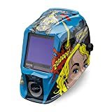 Lincoln Electric VIKING 3350 Jessi vs the Robot Welding Helmet with 4C Lens Technology - K3372-3 (Color: Jessi vs the Robot)