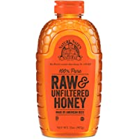 Nature Nate's 32 Ounce 100% Pure Raw and Unfiltered Honey